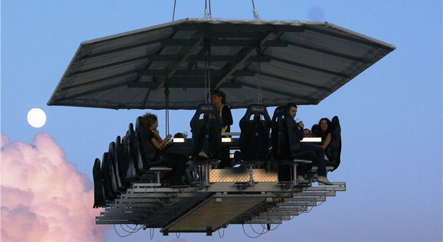 Evenement Dinner in the Sky - Peeman Dranken